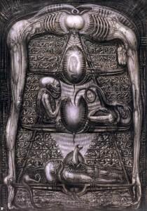 Xenomorph Stele