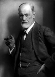 Sigmund Freud, father of psychoanalysis....